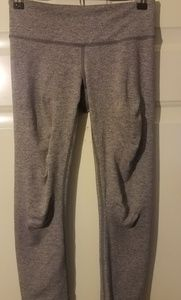 Lululemon Leggins Capris Grey Sz 4